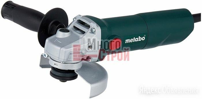 УШМ  W 650-125 METABO по цене 3190₽ - Шлифовальные машины, фото 0