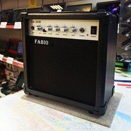 Гитарное усиление - Комбоусилитель Fabio GA-20, 0