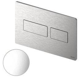Прочая техника - TECE Solid Клавиша смыва, двойной смыв, антивандальная, металл, цвет: белый г..., 0