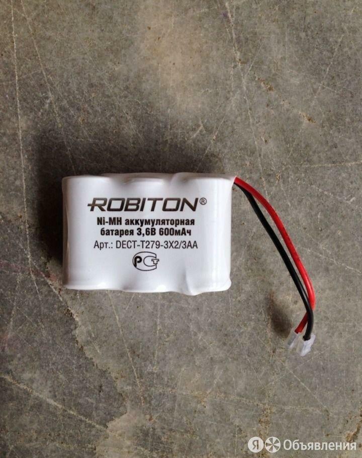 Аккумулятор для радиотелефона T279 3x2/3AA 3.6V по цене 350₽ - Радиотелефоны, фото 0