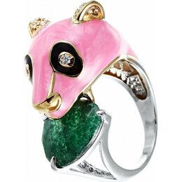 Комплекты - Element47 кольцо серебро вес 7,11 вставка эмаль, фианит, стекло арт. 742912, 0