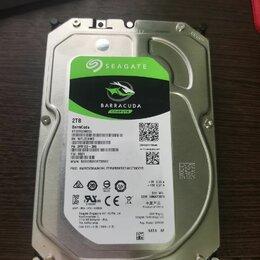 Жёсткие диски и SSD - 2 тб Жесткий диск Seagate BarraCuda, 0