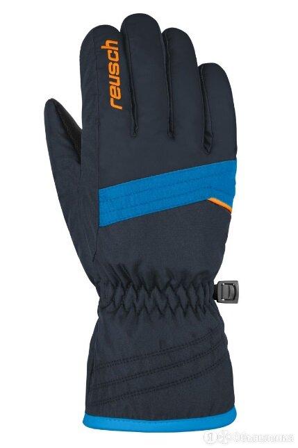 Перчатки REUSCH Alan Junior black/blue д. по цене 1650₽ - Брюки, фото 0