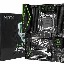 Материнские платы - Комплект-HUANANZHI X99 F8+Intel Xeon E5-2678V3+TANBASSH 16Гб/2х8/2666mhz, 0