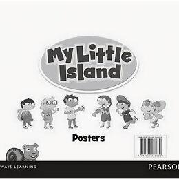 Обучающие плакаты - My Little Island Level 1 Posters Level 1, 2, 3, 0