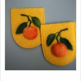 Рукоделие, поделки и сопутствующие товары - Декоративные, накладные карманы ′Мандарины′. , 0