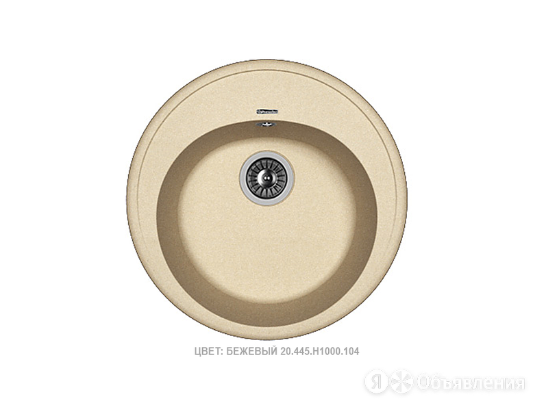 """Кухонная мойка """"Florentina Лотос 510"""" Бежевый по цене 8461₽ - Кухонные мойки, фото 0"""