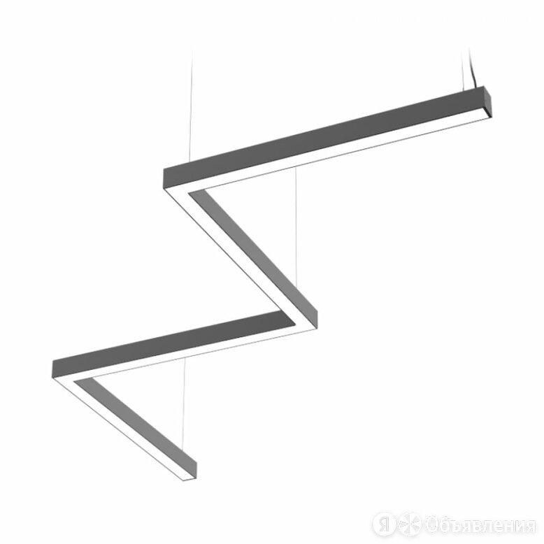 Светильник DIODEX Микко Зигзаг по цене 18198₽ - Люстры и потолочные светильники, фото 0