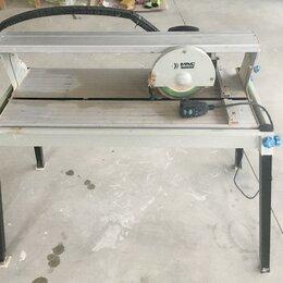 Плиткорезы и камнерезы - Плиткорез электрический водяной 800вт, диск 200 мм, 0