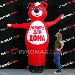 Рекламные конструкции и материалы - Надувная фигура медведь рукомах, 0
