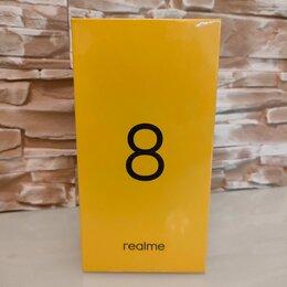 Мобильные телефоны - Новый запечатанный Realme 8 6/128gb, 0