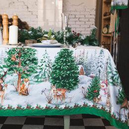 Скатерти и салфетки - Скатерть «Этель: Новогодний лес», 180 × 148 , 0