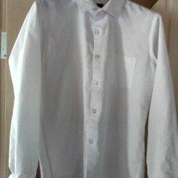 Рубашки - Мужская рубашка (белая), размер 44-46 (S), 0