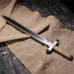 """Игрушечное оружие и бластеры - Сувенирное деревянное оружие """"Меч Лорда"""", 75 см, массив сосны, микс, 0"""