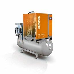 Воздушные компрессоры - Компрессор винтовой Ekomak DMD 150 CRD-10, 10а на ресивере 430л, 0