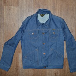 Куртки - Куртка джинсовая Wrangler 136MJ, Made in USA, 0