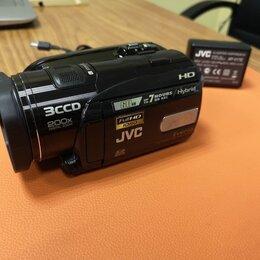 Видеокамеры - Видеокамера JVC GZ-HD3ER, 0