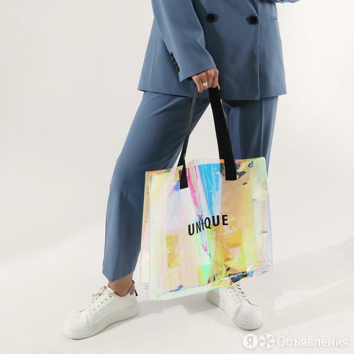 Сумка-шоппер Unique, 35 х 40 х 10 см (комплект из 2 шт.) по цене 1176₽ - Подарочная упаковка, фото 0