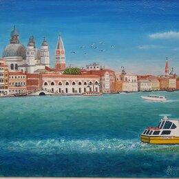 """Картины, постеры, гобелены, панно - Картина """"Воспоминания о Венеции"""", масло, 40э30см, 0"""