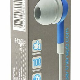 Наушники и Bluetooth-гарнитуры - Новые наушники Partner Style, 0