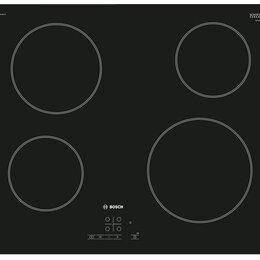 Плиты и варочные панели - Варочная поверхность Bosch PKE611B17E, 0