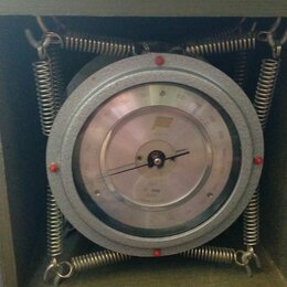 Метеостанции, термометры, барометры - Барометр-анероид контрольный м-67, 0