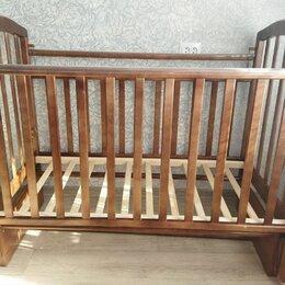 Кроватки - Кроватка маятник детская , 0