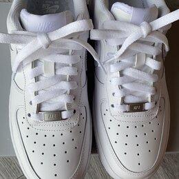 Кроссовки и кеды - Nike Air force 1'07 белые original, 0
