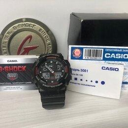 Наручные часы - Наручные часы Casio G-SHOCK GA-100-1A4. Т5135., 0