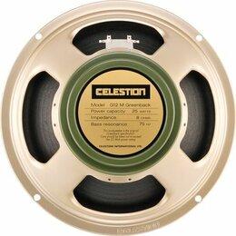 """Оборудование для звукозаписывающих студий - T1220BWD G12M Celestion Greenback Динамик 12"""" 8 Ом 25Вт, 0"""