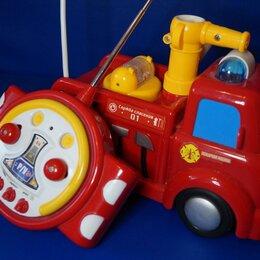 Радиоуправляемые игрушки - Машинка детская пожарная на радиоуправлении, 0