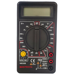 Измерительные инструменты и приборы - Mastech М830В Цифровой мультиметр, 0