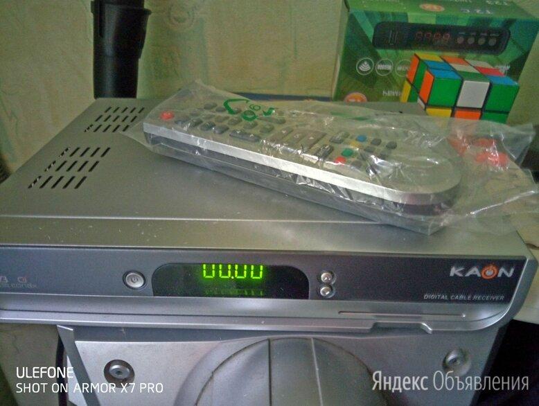Ресивер Kaon KCF-220SCO по цене 350₽ - ТВ-приставки и медиаплееры, фото 0