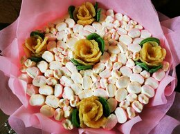 Цветы, букеты, композиции - Вкусные букеты, 0