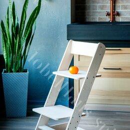 Стульчики для кормления - Ошлифованный растущий стул, 0