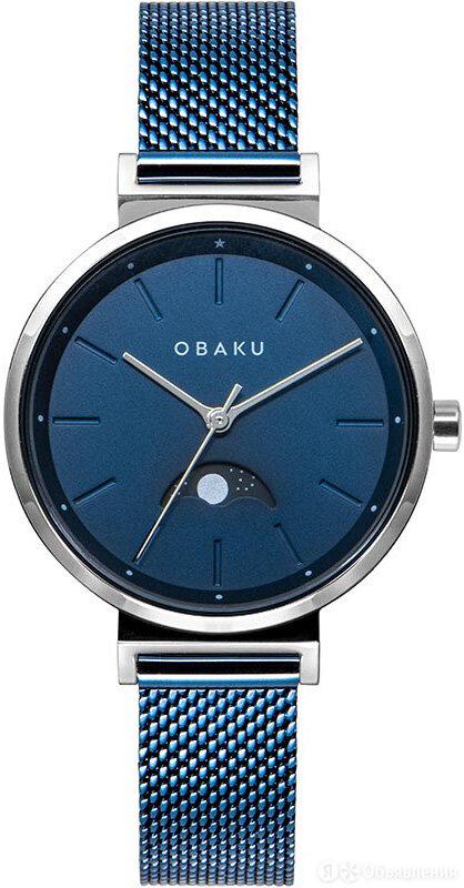 Наручные часы Obaku V243LMCLML по цене 9990₽ - Наручные часы, фото 0