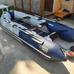 Надувные, разборные и гребные суда - Надувная лодка Ривьера 3400 СК Компакт, почти новая, 0