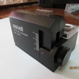 Аксессуары для проигрывателей виниловых дисков - Ультразвуковой очиститель иглы maxell SC-441, 0