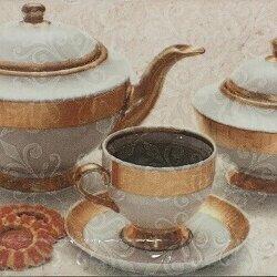 Плитка из керамогранита - Керамическая плитка Bela Vista Декор Biselado Decor Arabia 10x20, 0