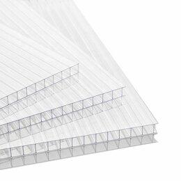 Поликарбонат - Поликарбонат сотовый 6мм*2,1м*6м прозрачный, 0