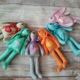Мягкие игрушки - Зайчики ручная работа, 0