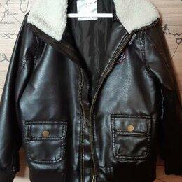 Куртки и пуховики - Новая куртка экокожа 104 размер, 0