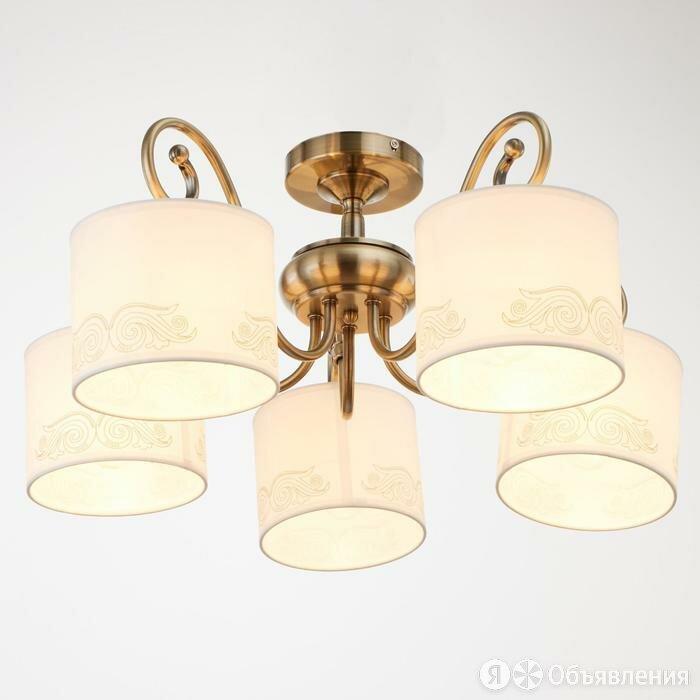Люстра 6591181/5 E27 40Вт бронза 58х58х27 см по цене 3703₽ - Люстры и потолочные светильники, фото 0