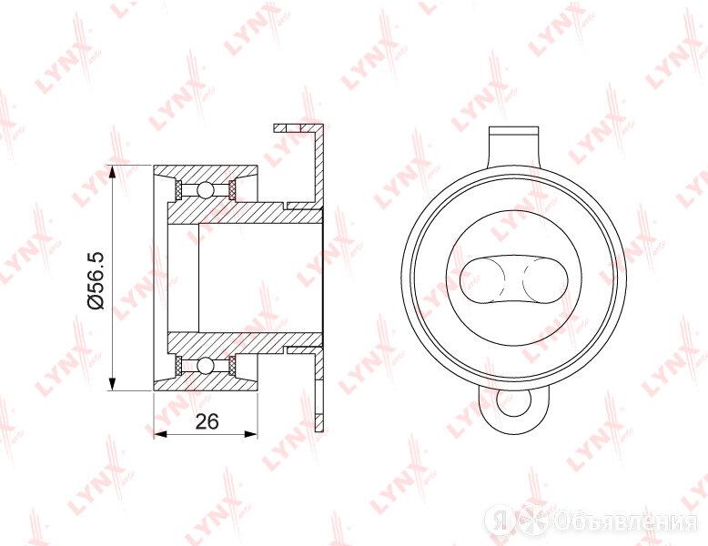 Ролик натяжной ремня грм LYNXauto PB-1140 по цене 793₽ - Отопление и кондиционирование , фото 0