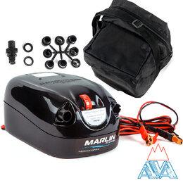 Насосы и аксессуары - Электрический насос Marlin GP-80 для лодок ПВХ и мебели, 0