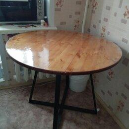 Столы и столики - Круглый стол в стиле Лофт, 0