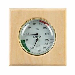 Термометры и таймеры - Термогигрометр для бани и сауны, 0