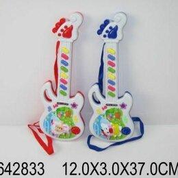 Акустические и классические гитары - Гитара эл. Веселая овечка 18,5*5*49см, 0