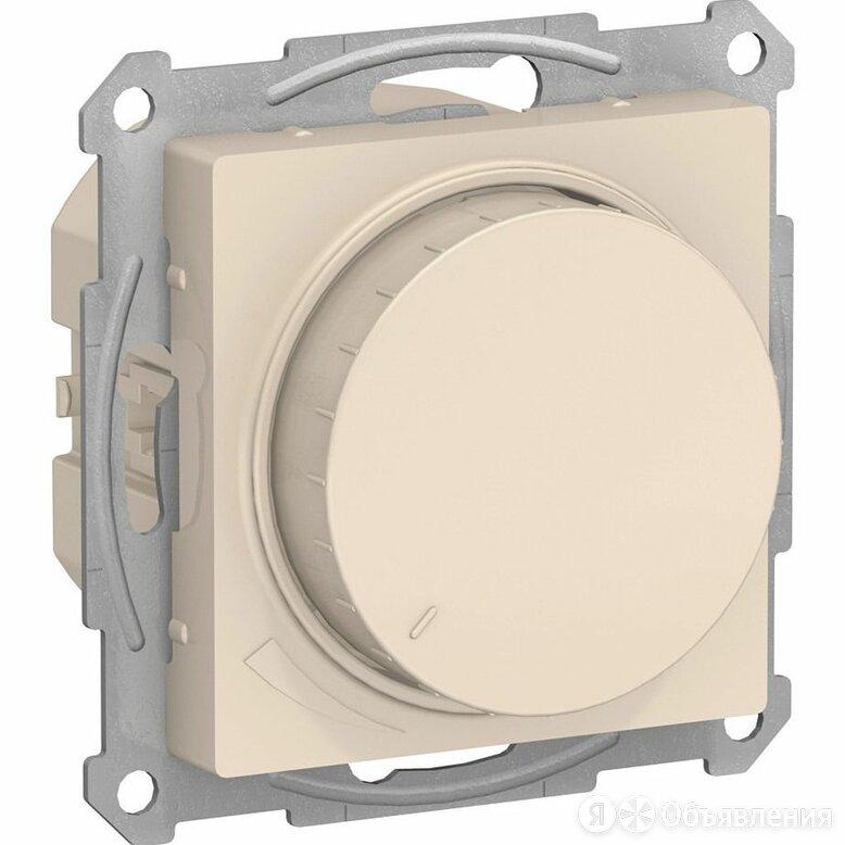 Механизм светорегулятора (диммера) AtlasDesign поворотно-нажимной 315Вт беж. Sch по цене 1962₽ - Электроустановочные изделия, фото 0