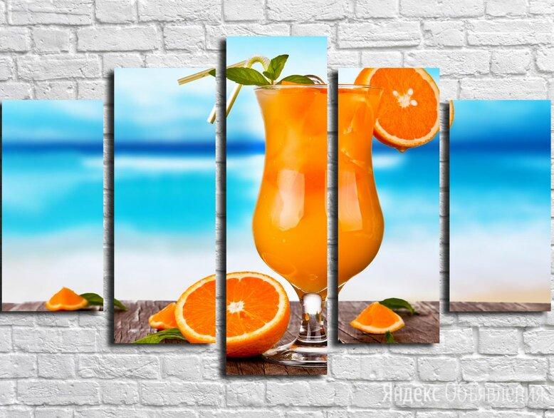 Модульная картина Для кухни 7 (Материал: Натуральный холст, Размер: 100x60 cм.) по цене 1850₽ - Интерьерная подсветка, фото 0